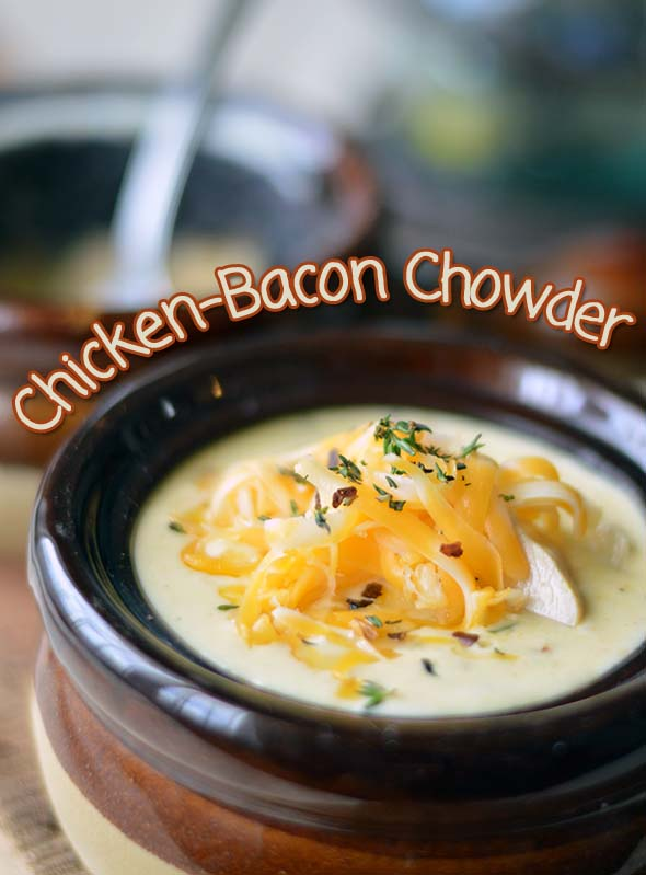 Thick and Comforting Chicken-Bacon Chowder
