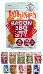 Bacon BBQ Cheese Crisps