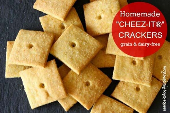 Homemade 'Cheez-Its'