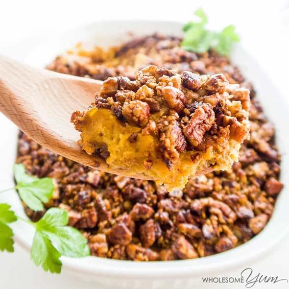 Low-Carb Sweet Potato Casserole
