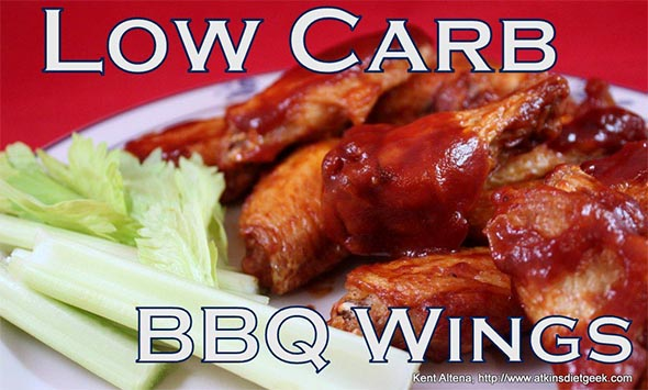 Low Carb BBQ Wings