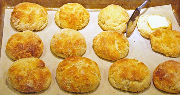 Gluten-Free Yogurt Biscuits