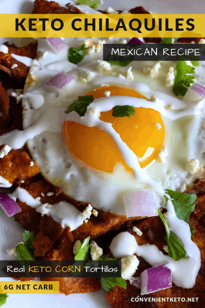 EASY Keto Chilaquiles