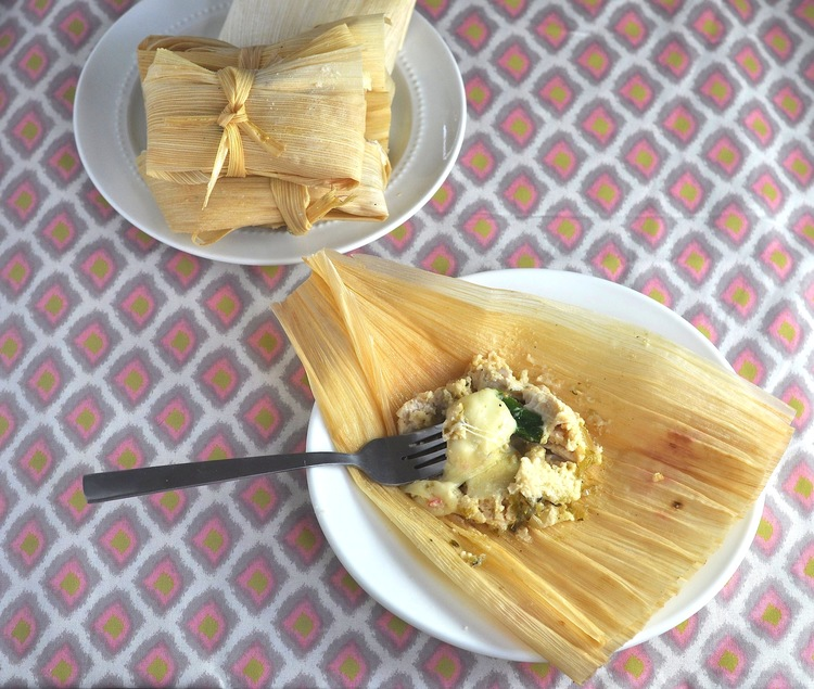 Low Carb Chicken & Green Chile Tamales