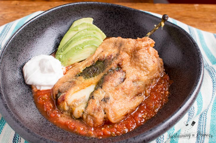 Low-Carb Traditional Chiles Rellenos