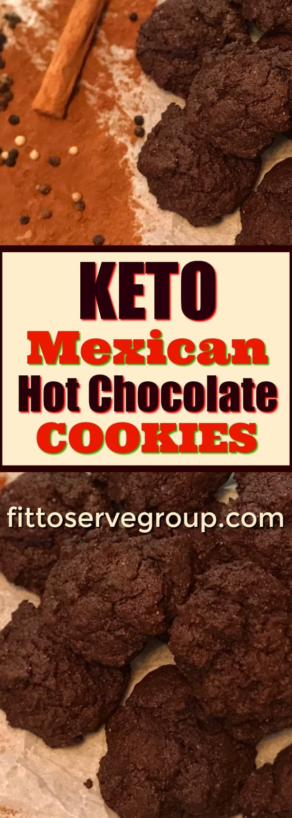 Keto Mexican Hot Chocolate Cookies