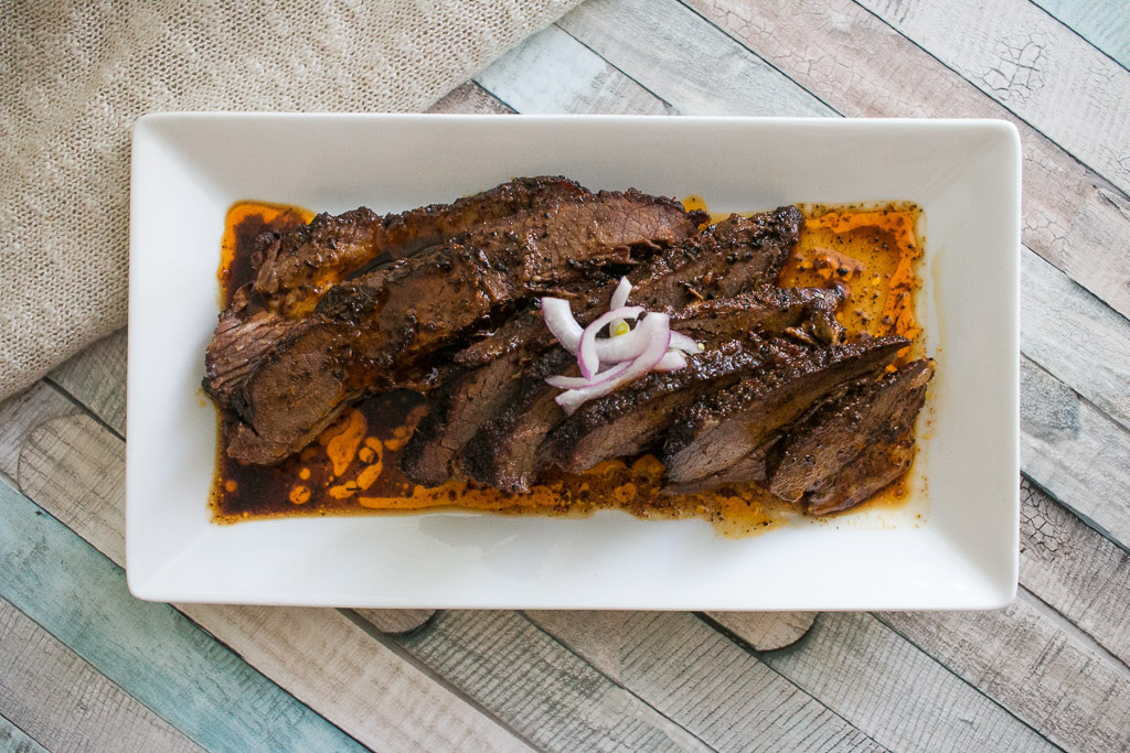 CKeto Chili Rubbed Brisket