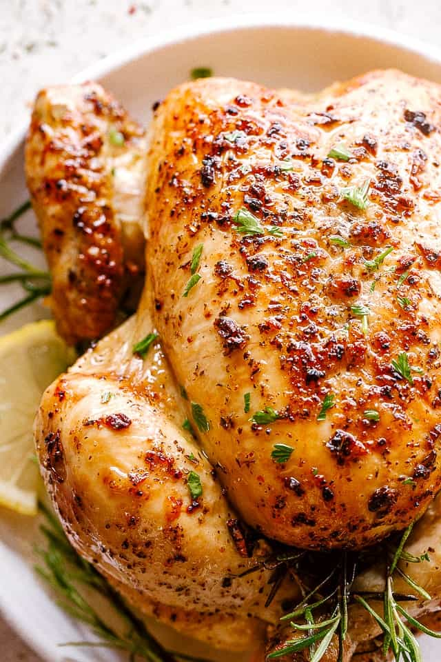 Easy Roast Chicken Recipe