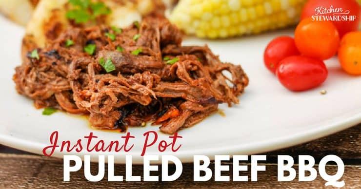 Instant Pot Keto Beef BBQ
