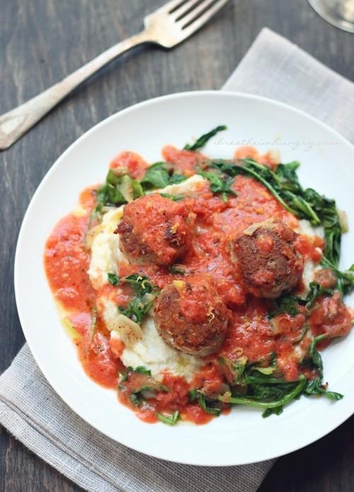 Keto Italian Pork & Parmesan Meatballs