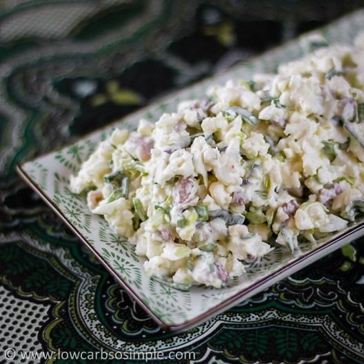 Crunchy and Nutty Cauliflower Salad