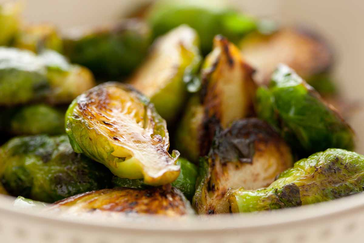 Simple Buttery Brussels Sprouts
