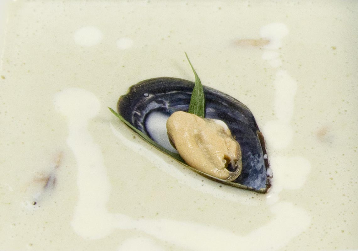 Artichoke and Mussel Bisque