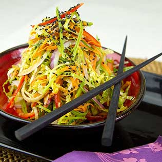 Colorful Asian Slaw