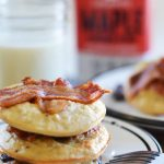 Bacon Chocolate Chip Cookie Pancakes