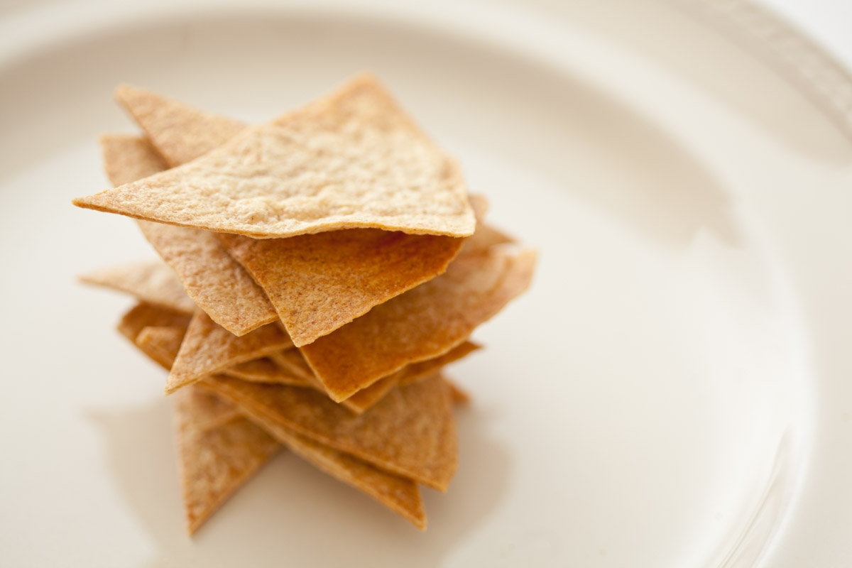 Low-Carb Baked Tortilla Chips