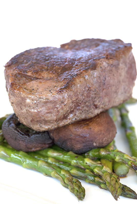 Pan Roasted Beef Tenderloin Steak