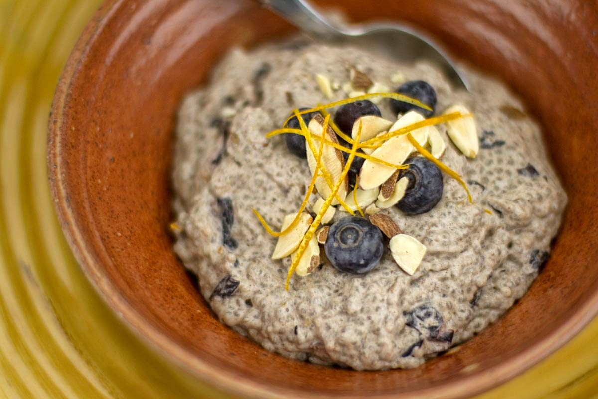Orange-Blueberry Chia Pudding