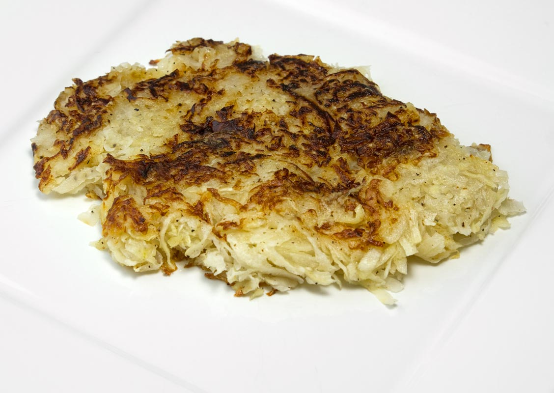 Turnip-Celeriac Hash Browns