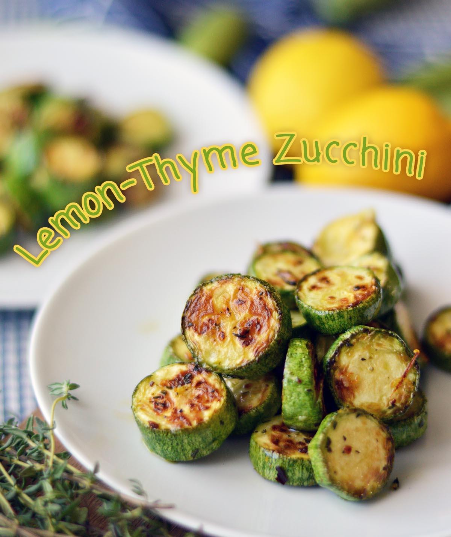 Lemon-Thyme Zucchini