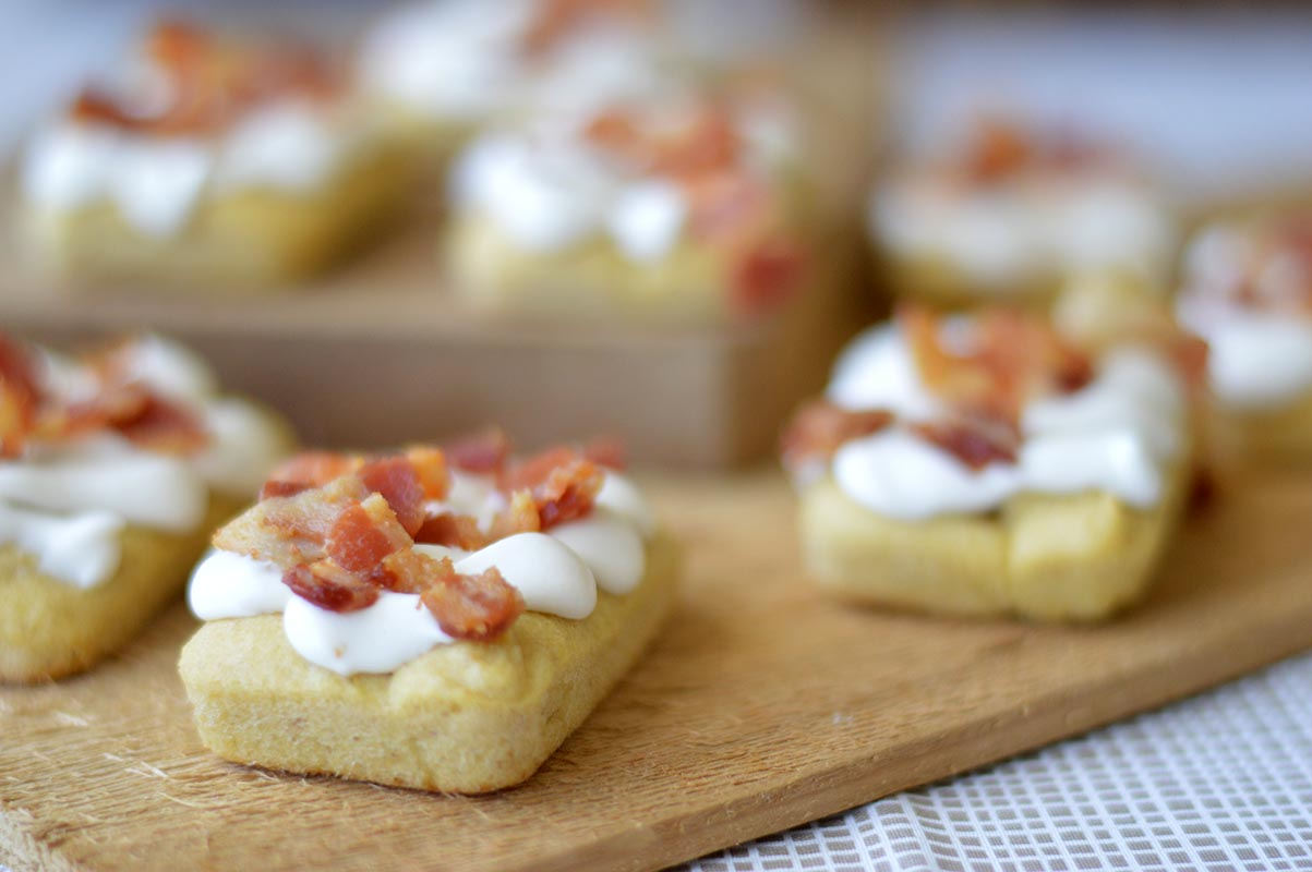 Mini Maple Bacon Bars
