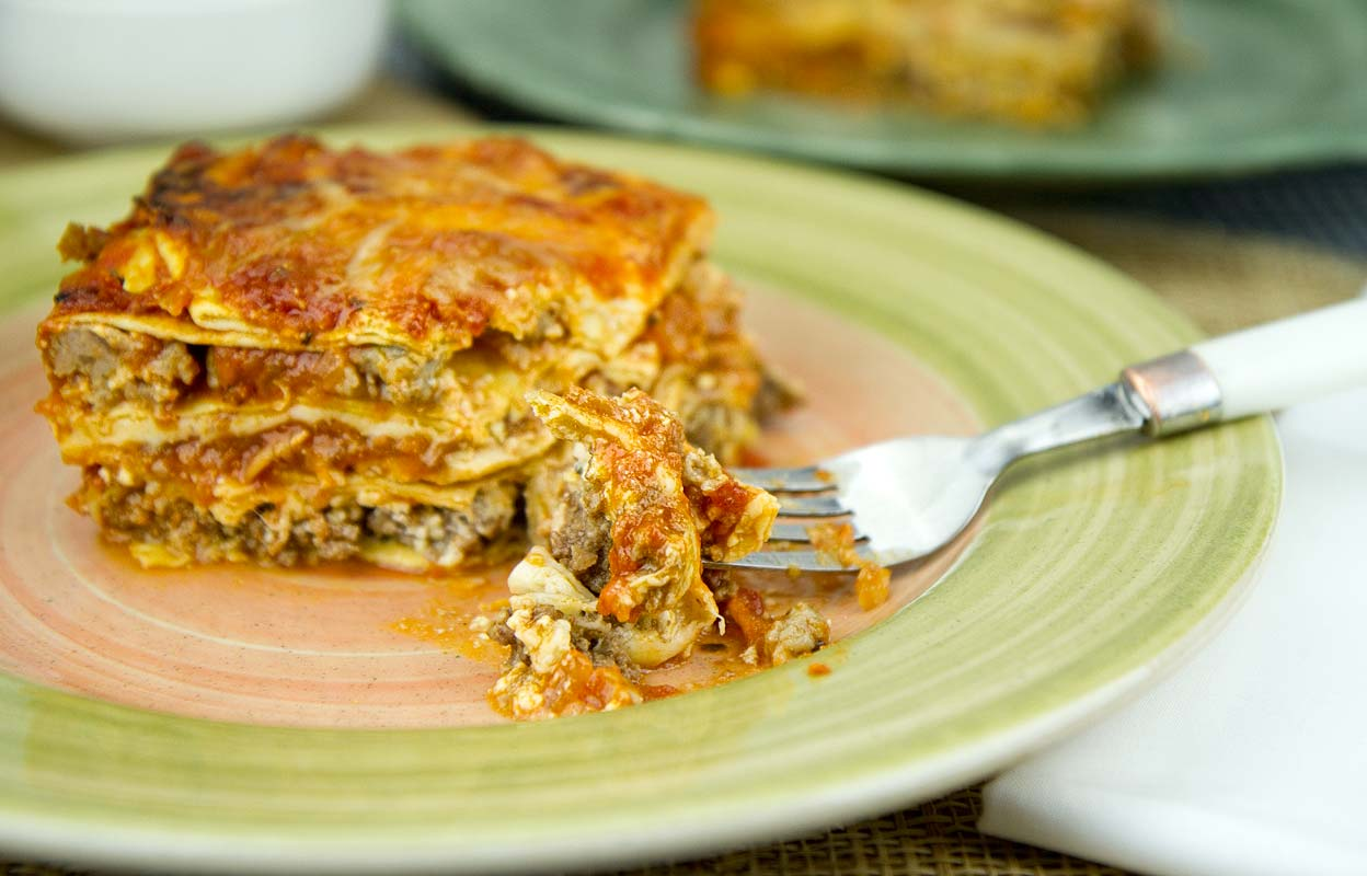 Meat Lovers' Lasagna