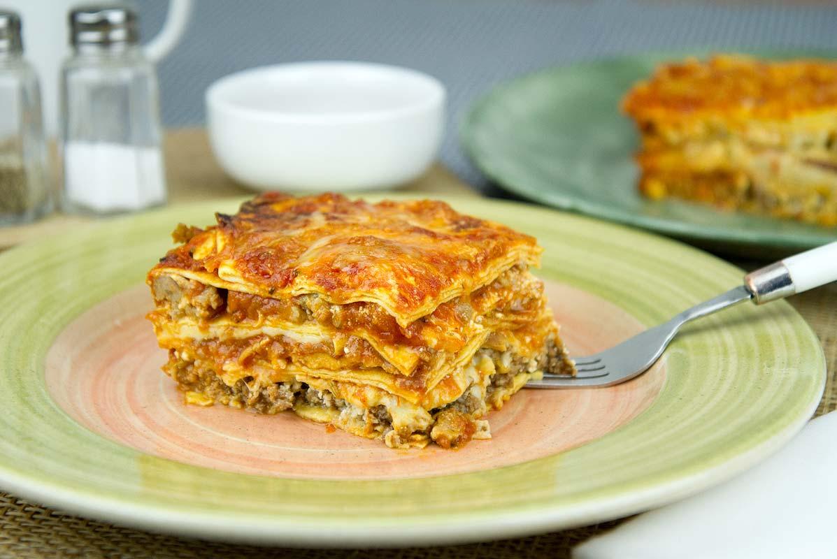 meat lovers' lasagna | dj foodie