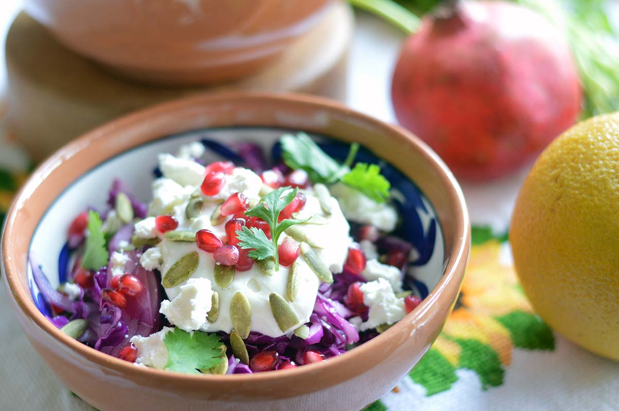 Festive Mexican Cabbage Salad