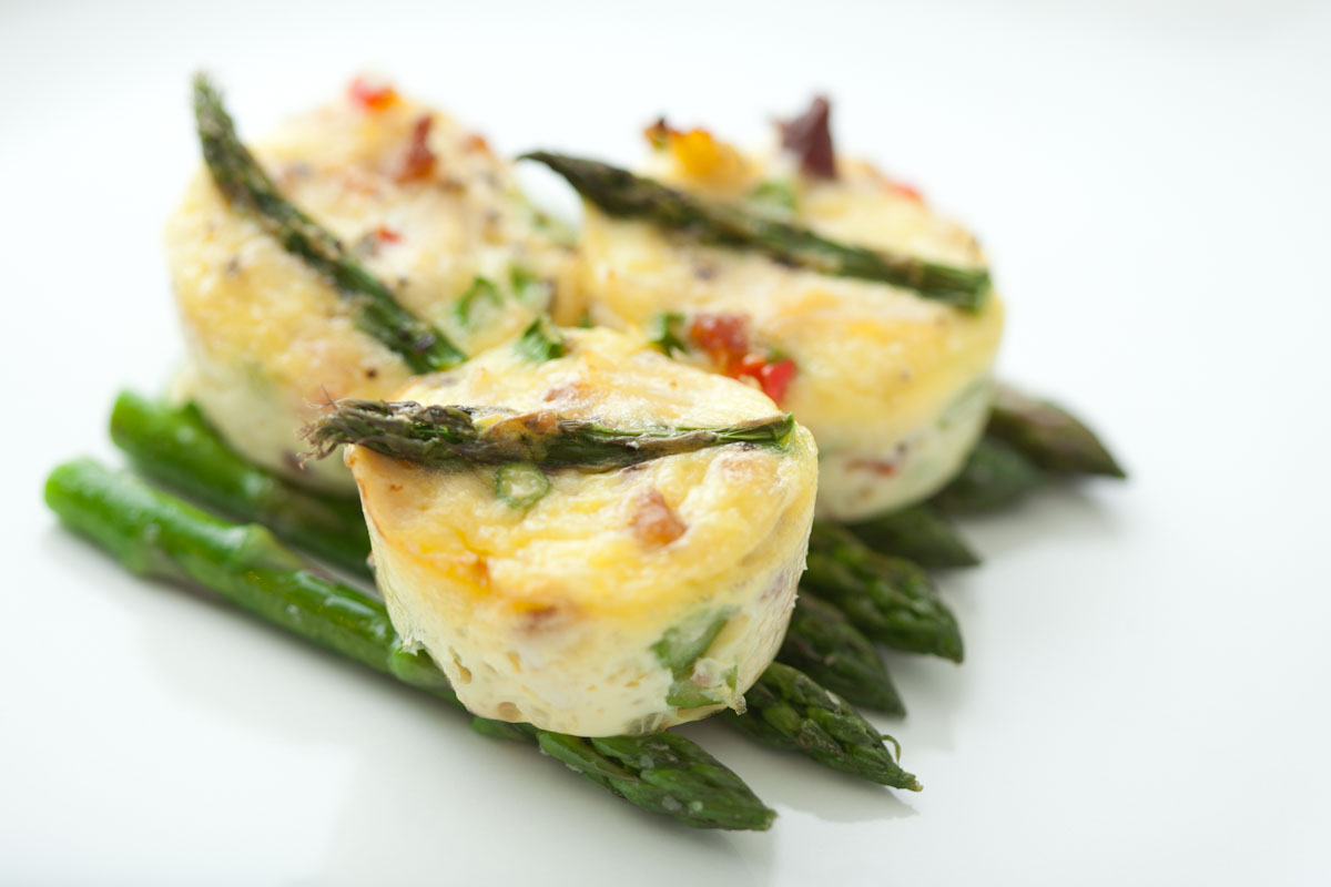 Crab, Asparagus and Pepper Mini