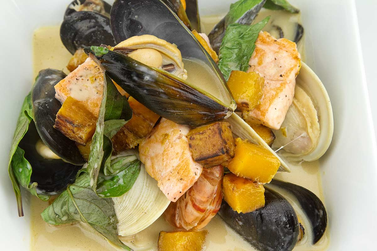 Thai Pumpkin Seafood Stew