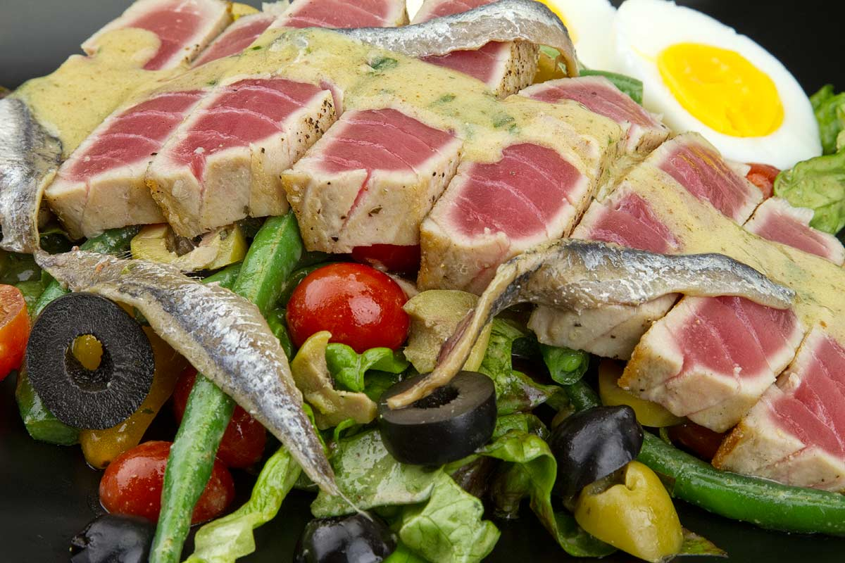 The Famous Salad Niçoise