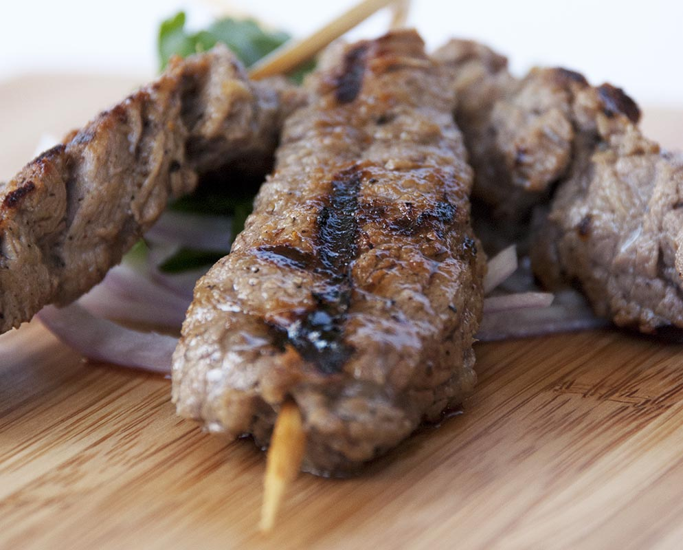 Thai Grilled Beef Skewers